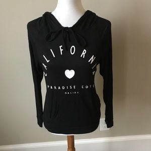 California black hoodie